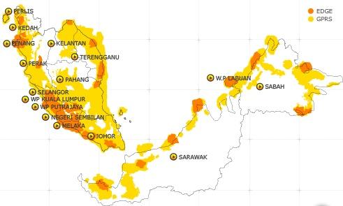 Ini peta liputan DiGi ketika Happy mula-mula diperkenalkan. Kini seluruh liputan DiGi dilengkapi EDGE, untuk peta liputan terkini, rujuk http://www.digi.com.my/broadband/coverage.html dan zoom out peta untuk gambaran rangkaian seluruh negara.